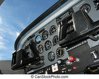 Cockpit Control - Internal of Cockpit - Aircraft...