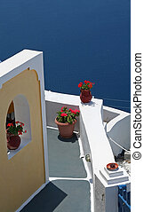 House - A house at Santorini Island, Greece