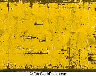 Yellowed - grunge background