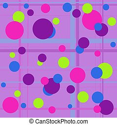 Bubbly - A bright colorful bubble background.