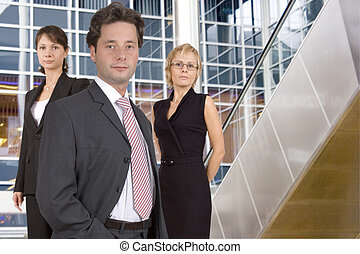 Business team - Group of businesspeople standing
