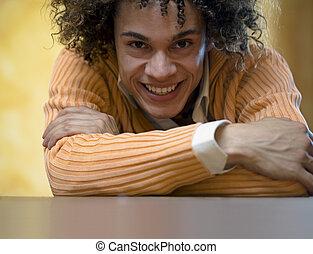Guy smiling06 - nice guy smiling