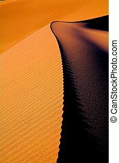 Dunes Death Valley - Death Valley Dunes close to Stovepipe...
