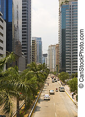 Business District - One of Manilas commercial and business...