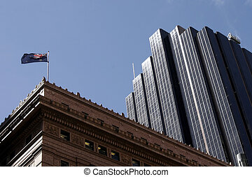 Office Building With Historic Building - Office Building...
