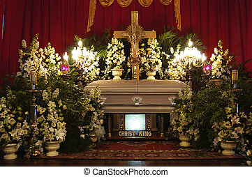 Mourning - Funeral service in the Philippines