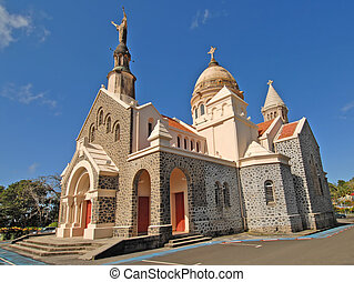 Balata Church, Northern Martinique, French West Indies
