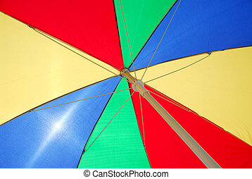 Beach umbrella backgound