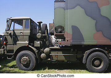 army truck - military transport