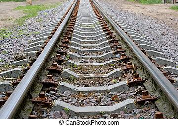 Rails escape afar - Rails escape somewhere afar