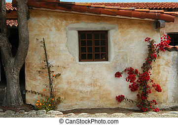 Spanish Window - A quaint Spanish setting
