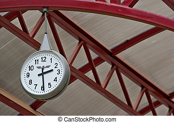 railway station clock-indispensable attribute of any station