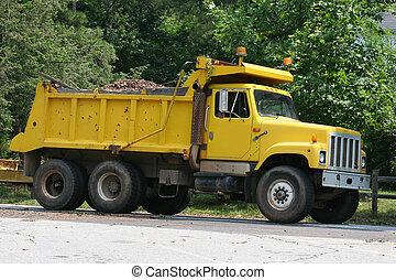 Dump Truck 2 - Yellow dump truck