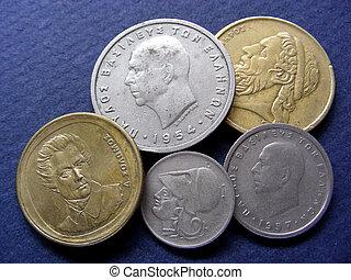 Greek Coins - Heads