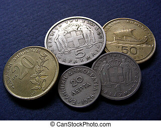 Greek Coins - Tails