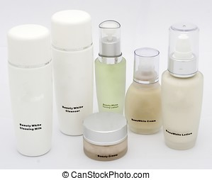 Cosmetic Products - A package of cosmetic prodcuts