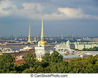 Saint Petersburg - Roofs of Saint Petersburg
