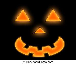 halloween spirit - an isolated halloween spirit