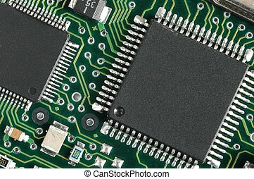 Chips - Printed circuit board with chips