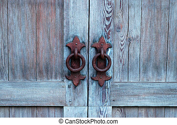 Antique Door - A door from the 1800s