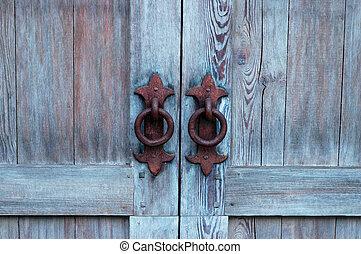 antieke, deur