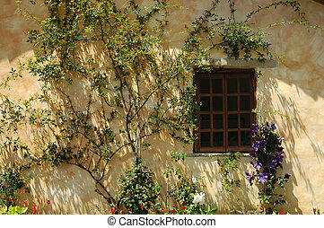 Morning Window - A spanish style architecture