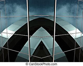 Futuristic building - Futuristic architecture
