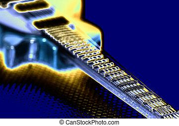 Pop Music - Pop Art Guitar