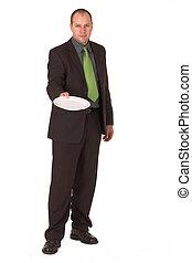 Negotiate - Businessman negotiating