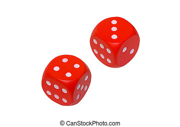 Dice showing 7