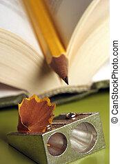 Pencil in a book 01