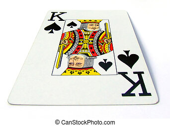 king of spades - the k of spades