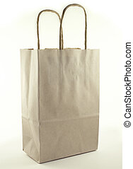 Shopping Bag - Brown paper shopping bag.