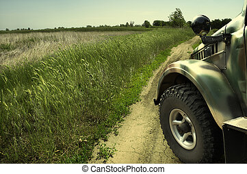 landrover - country road(special photo f/x)