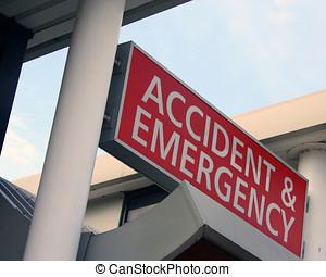 acidente, emergência, departamento