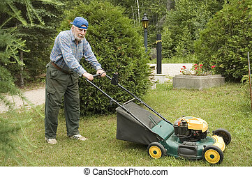 Lawn mowing - Senior lawn mowing