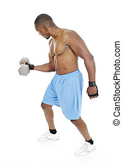 Male Weight Lifter 3