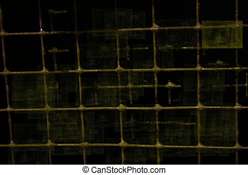 Wire background - cage wire