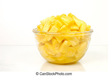 Pineapple pieces