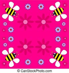 Tchórzliwy, retro, pszczoły
