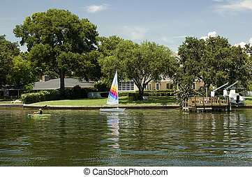 Waterfront Home - A waterfront home in St. Petersburg,...