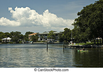 Waterfront Home - Waterfront homes along the Intercoastal...