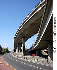 Bridge 16 - This is a Motorway bridge juction in South...