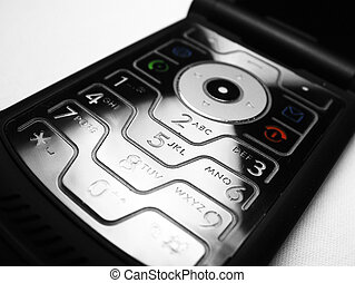 Cell phone keyboard - Mobile cell phone keyboard