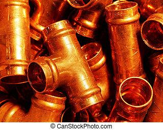 Tees - Plumbing - 15mm copper tees