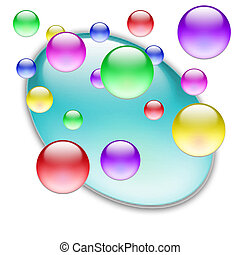 Color balls 09 - Bunch of colorful balls