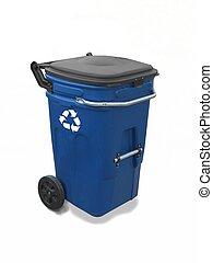 reciclaje, cajón, 2