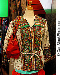 Woman street fashion - Mannequin with specific casual woman...
