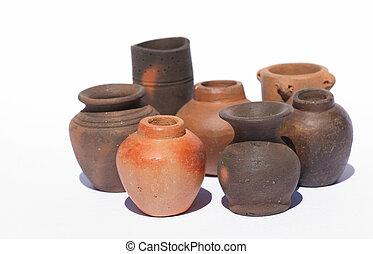 Pottery - pots from Turkey