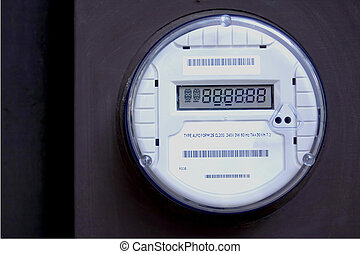 Smart Meter 3 - A digital electric utility meter, Smart...
